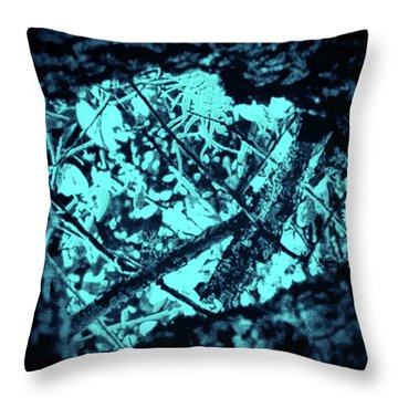 Seeing Through Trees Throw Pillow