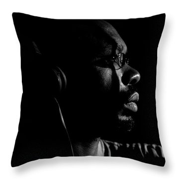 Throw Pillow featuring the photograph Seek It by Eric Christopher Jackson