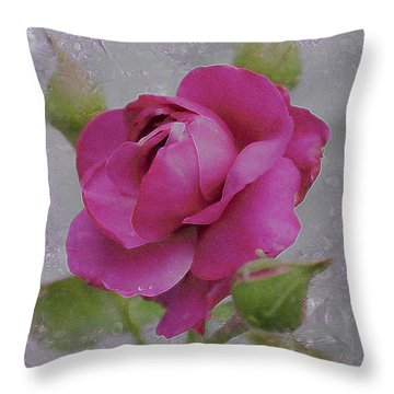 Throw Pillow featuring the photograph Seek Me With All Your Heart by Kate Word