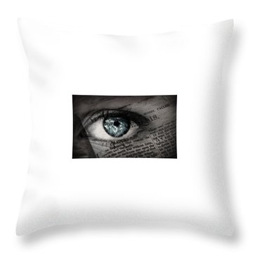 Seek The Truth Throw Pillow