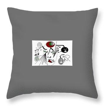 Seekers Phantom Throw Pillow