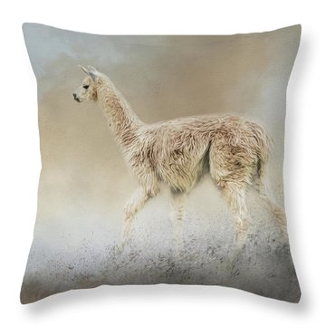 Seeking Throw Pillow by Jai Johnson