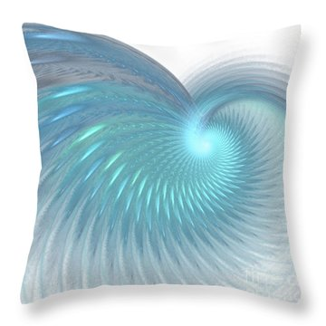 Seeking Peace Throw Pillow by Donna Walsh