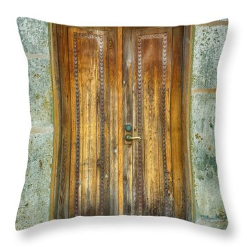 Throw Pillow featuring the photograph Seeking Sanctuary - 1 by Stephen Stookey