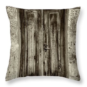 Throw Pillow featuring the photograph Seeking Sanctuary - 2 by Stephen Stookey