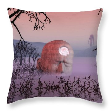 Seeking The Dying Light Of Wisdom Throw Pillow