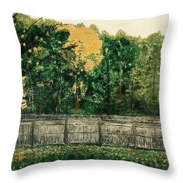 Seekonk Farm Throw Pillow