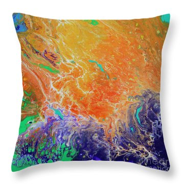 Deep Space Impressions 1 Throw Pillow