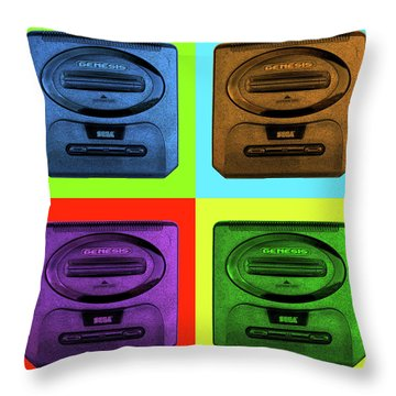 Sega Genesis Throw Pillow
