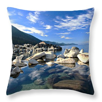 Sekani Morning Glory Throw Pillow