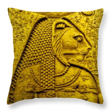 Sekhmet Throw Pillow