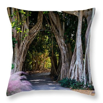 Selby Secret Garden 2 Throw Pillow