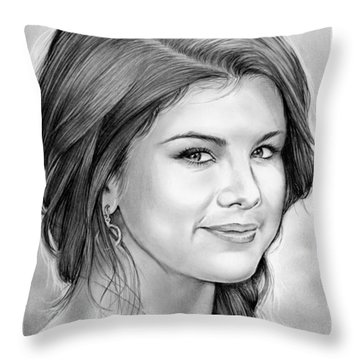 Selena Gomez Throw Pillow