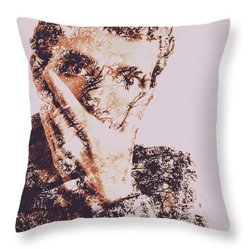 Self Censorship Is The New Speak No Evil Throw Pillow