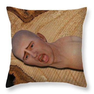 Self Harm Throw Pillow