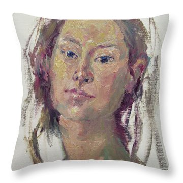 Self Portrait 1602 Throw Pillow