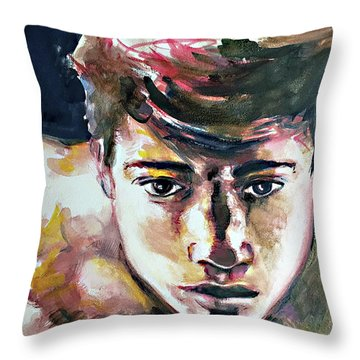 Self Portrait 2016 Throw Pillow