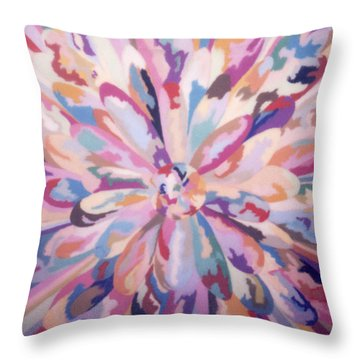 Self Portrait A Joyful Noise Throw Pillow