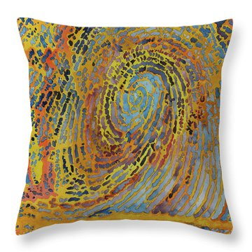 Self Portrait R1 Throw Pillow