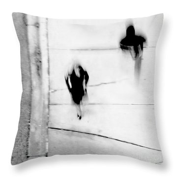 Self-protection - If You Look Me In The Eye Will You See Me Throw Pillow