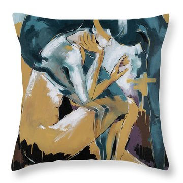 Self Reflection - Of A Dancer Throw Pillow