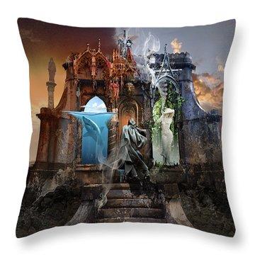 Self Reincarnation  Throw Pillow