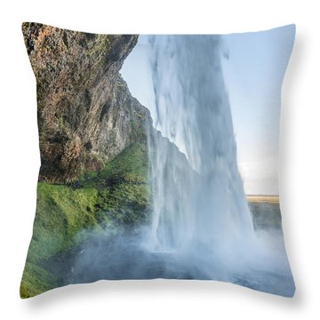 Seljalandsfoss Throw Pillow