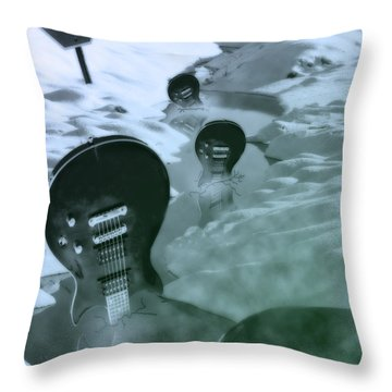 Sell Out  Throw Pillow by Cathy  Beharriell