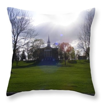 Seminary Ridge Throw Pillow