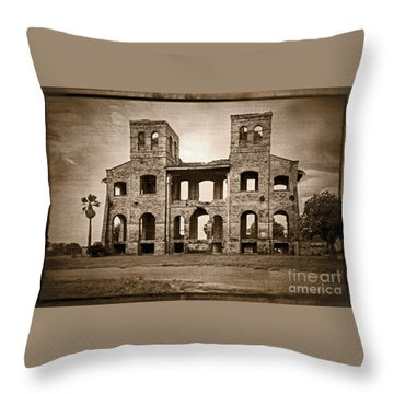 Seminary Ruins Throw Pillow