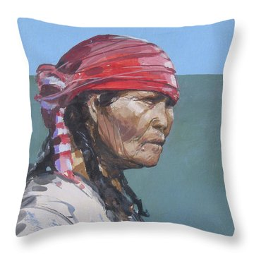 Seminole 1987 Throw Pillow by Bob George
