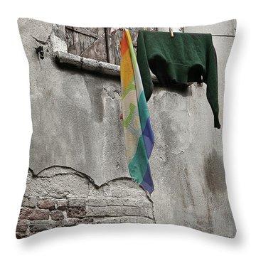 Semplicita - Venice Throw Pillow
