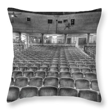 Senate Theatre Seating Detroit Mi Throw Pillow