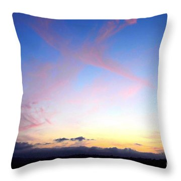 Send Out Your Light Throw Pillow