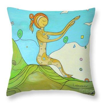 Sending You Love Throw Pillow