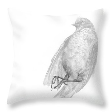 Senescence 1 Throw Pillow