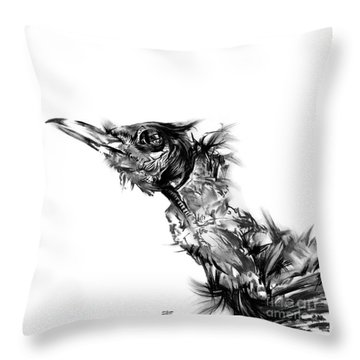 Senescence 5 Throw Pillow