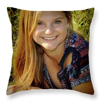 Senior 2 Throw Pillow