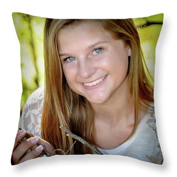 Senior 3 Throw Pillow