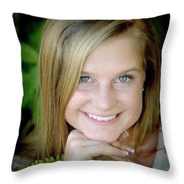 Senior 4 Throw Pillow