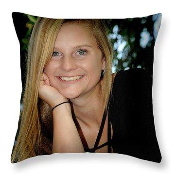 Senior 5 Throw Pillow