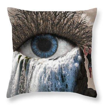 Sense Of Sight Throw Pillow