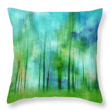 Sense Of Summer Throw Pillow