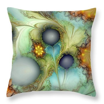 Sensorial Intervention Throw Pillow by Casey Kotas