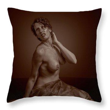 Sensual Nude Throw Pillow