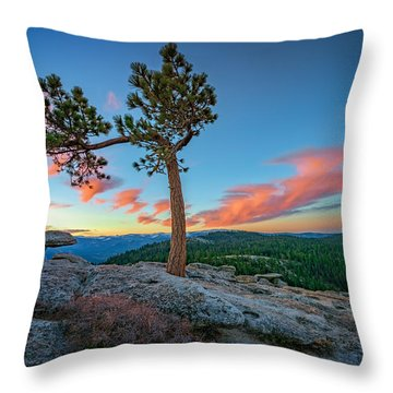 Sentinel Dawn Throw Pillow