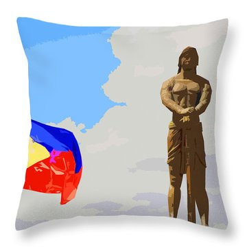 Sentinel Of Freedom Throw Pillow