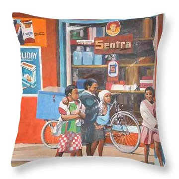 Sentra Throw Pillow