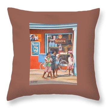 Sentra Throw Pillow by Tim Johnson