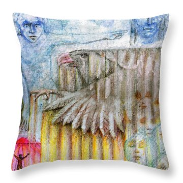 Separate Reality 3 Throw Pillow by Jim Rehlin